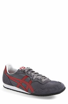 Onitsuka Tiger™ : 'Serrano' Sneaker Shoes Too Big, Onitsuka Tiger, Color Stripes, Soft Suede, Men's Shoes, Nordstrom, Pairs, Mens Fashion, Retro