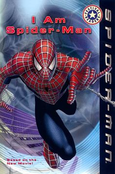 Spider-Man: I Am Spider-Man by Acton Figueroa Action Wallpaper Pictures, Wallpaper Quotes, Spiderman Pictures, Strong Guy, Spider Bites, Picture Blog, Used Books, What Is Like, New Movies