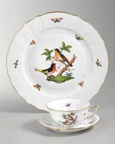 Herend. There is no porcelain more beautiful. This is my favorite pattern, the Rothschild Bird.