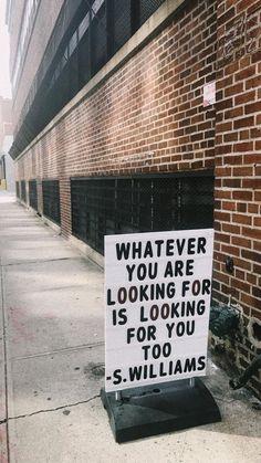 So come find me ...
