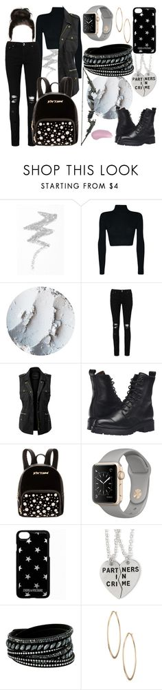 """""""Mission Completed!"""" by qwertyuiop-sparta ❤ liked on Polyvore featuring NYX, Boohoo, LE3NO, Frye, Betsey Johnson, Zadig & Voltaire, Swarovski, Lydell NYC and Kjaer Weis"""