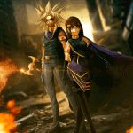 Marik and Shani |Comission| by MichelVictor.deviantart.com on @DeviantArt