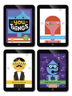 Wee Society App - for kids. About how people are different.