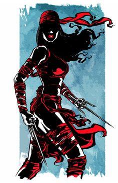 Elektra - Print by KineticPress