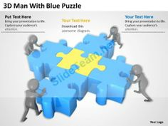 D Team Together To Solve Puzzle Ppt Graphics Icons Powerpoint