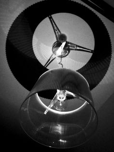 Stefano Mauroner Production, chandelier, light, light bulb, black and white, silhouette, contrast, Kartell