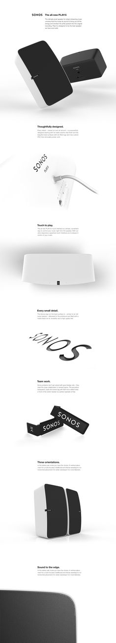 The all new Sonos Play:5 on Behance
