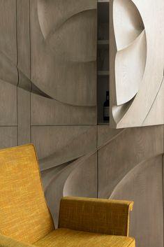 Galeria de OM Townhouse / Studio Arthur Casas - 17 Home Design, Wood Interior Design, Arch Interior, Interior And Exterior, Design Ideas, Manhattan, Studio Arthur Casas, New York Townhouse, Natural Wood Flooring