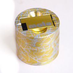 Mama P's Award winning Custom Two Color herb grinder in gold on silver with matching Lightermate lighter. Each a one of a kind piece of decorative precision sculpture on top of being the premium weed grinder in the world.