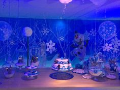 Lucia's Birthday Frozen ❄️⛄️❄️⛄️❄️⛄️