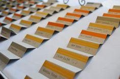 <3 these place cards - DIY Wedding » Casa de Lewis