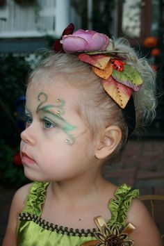 Find an artsy friend or makeup expert to help paint fairy faces, bejeweled or glitter ones even better