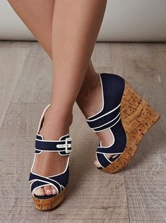 Gorgeous summer wedges - Shoes and beauty