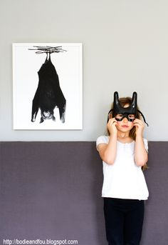 Bat print {Exclusive} by Mini & Maximus — BODIE and FOU - Award-winning inspiring concept store Halloween Decorations For Kids, Halloween Costumes For Kids, Halloween Party, Happy Photography, Children Photography, Poster Prints, Art Prints, Posters, Little Fashionista
