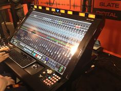 Slate Pro Audio Raven Multitouch Mixers and other mixing boards Music Production Equipment, Recording Equipment, Studio Fix, Studio Gear, Studio Equipment, Dj Equipment, Recording Studio Setup, Sound Room, Digital Audio Workstation