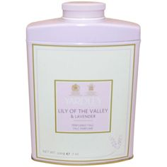 Lily Of The Valley & Lavender by Yardley London for Women - 7 oz Perfumed Talc | eBay