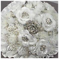 Okay Planners lets get our supplies and create this BEAUTIFUL Brooch Bouquet! Be sure to pick up plenty of sparkle and shine. Remember, when every penny counts count on MissPlanIt! @ https://m.youtube.com/watch?v=ea6QPzstM1Q #wedding #weddingday #bouquet #flowers #weddingphotography #weddinginspiration #weddingideas #beautiful #crafts #diy