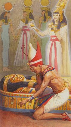 XIV. Temperance: Ramses - Tarot of Eternity