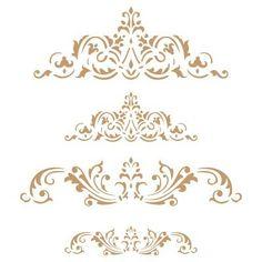 TODO-STENCIL Deco Vintage Composici/ón 012 Cafe Gijon Medidas aproximadas Medida Exterior 20 x 20 cm Medida del dise/ño:18 x 13,8 cm