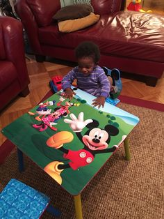 Disney Mickey Mouse Clubhouse Capers Activity Table Set, Blue ...