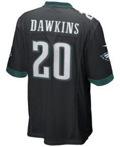 2fe792aae Nike Men Brian Dawkins Philadelphia Eagles Game Jersey