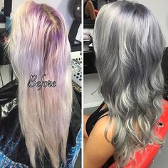 Silver Lavender! Hair by: @vividbeautydesign Tag your transformation pics with #transformaidian to be featured on Tuesdays! ✨  #mermaidians