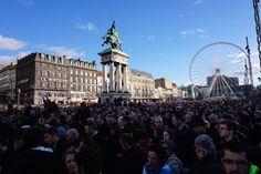 Photos de la marche Je suis Charlie à Clermont-Ferrand dimanche 11 janvier 2015 #jesuisCharlie #clermont