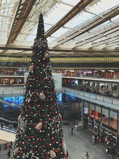 Paris Canopée des Halles Christmas Market in the 1st arrondissement of Paris, Île de France, France