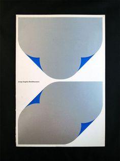 Wim Crouwel - Jonge Engelse Beeldhouwers by Bas van Vuurde Graphic Design Posters, Graphic Design Typography, Graphic Design Illustration, Graphic Design Inspiration, Graphic Designers, Book Design, Cover Design, Layout Design, Design Art