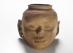 Bowl in the Form of a Human Head  Mississippian, 1350-1550 AD  The National Museum of the American Indian
