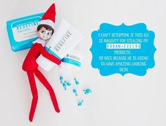 Rodan + Fields products are elf approved!! Order a regimen from me in December…