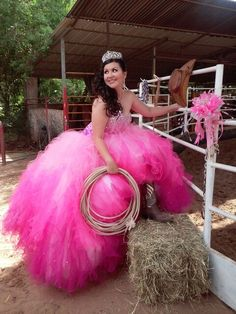 Country and Western style Quinceanera