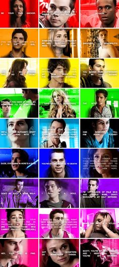 Teen Wolf - favorite quotes