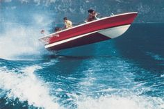The Rudy, Junior's version in fibreglass, ideal for fishing, water skiing and as…