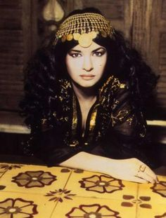 Natacha Atlas - is a Belgian singer known for her fusion of Arabic and Western electronic music, particularly hip-hop.