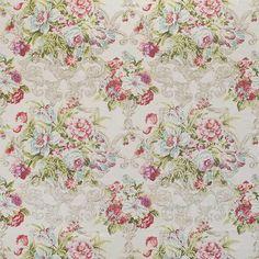 Warwick Fabrics : ROTHBURY, Colour CERISE