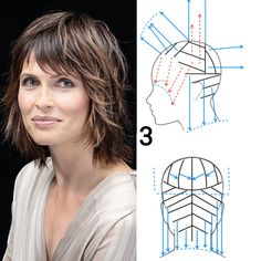 Simply Hairstyles, Cool Hairstyles, Hair Color And Cut, Haircut And Color, Hair Cut Guide, Hair Cutting Techniques, Diy Haircut, Hair Upstyles, How To Make Hair