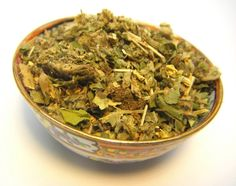 Smoke it, Drink it, Burn it –A blend of organic coltsfoot, dandelion, mugwort, spearmint, thyme, wormwood and yarrow for divinatory rites for receiving prophetic visions, tarot reading, rune casting, scrying, prophetic dreaming, or using other systems of divination. Each of the herbs has a history of being used to enhance psychic ability, to induce visions, and to aid in communication with the other worlds.