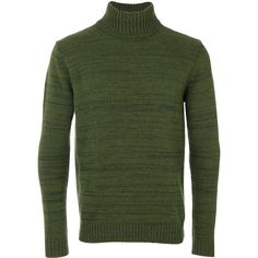 Jacob Cohen roll neck jumper (€220) ❤ liked on Polyvore featuring men's fashion, men's clothing, men's sweaters, green, mens wool sweaters, mens woolen sweaters, mens green sweater and mens roll neck sweater