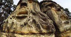 #HeyUnik  Inilah Penampakan Batu 'Kepala Setan' di Republik Ceko yang Bikin Heboh #Alam #Travel #Unik #YangUnikEmangAsyik