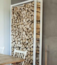 indoor firewood storage - Google Search