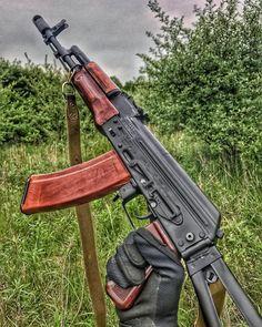 by: ・・・ Kalash is life Airsoft Guns, Weapons Guns, Guns And Ammo, Ak 47, Armas Wallpaper, Kalashnikov Rifle, Battle Rifle, Custom Guns, Cool Guns