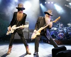 ZZ Top. (One of my favorite classic rock bands, especially when it comes to the guitar solos.) :)