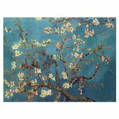 Canvas giclee print featuring Van Gogh's Almond Blossoms. Made in the USA.  Product: Canvas printConstruction Material: Canvas and woodFeatures:  Original art by Vincent Van GoghGallery wrappedMade in the USA