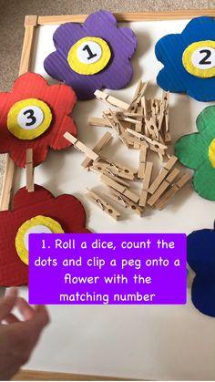 Math Activities For Preschoolers, Creative Activities For Toddlers, Eyfs Activities, Nursery Activities, Math Games For Kids, Work Activities, Educational Activities, Preschool Activities, Kindergarten Crafts
