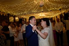 ...and after dinner the party starts with the first dance of Catriona and Conor...
