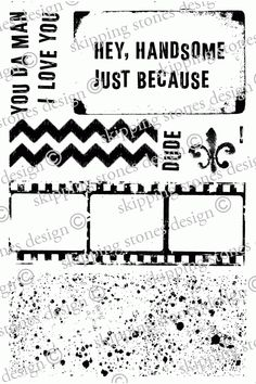 stamps for my wish list 'Skipping Stones Design'