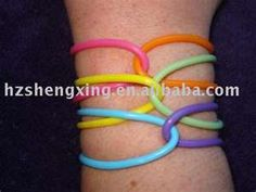 Jelly bracelets (to go with the shoes, of course!) Must be worn like pictured. 90s Childhood, My Childhood Memories, Jelly Bracelets, High School Memories, Jelly Shoes, I Remember When, Oldies But Goodies, Ol Days, My Memory