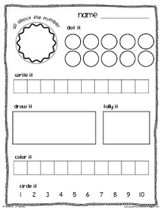 Math Center Time Savers Packet