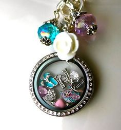 Origami Owl is a leading custom jewelry company known for telling stories through our signature Living Lockets, personalized charms, and other products. Origami Owl Necklace, Origami Owl Lockets, Origami Owl Jewelry, Origami Charms, Oragami, Locket Bracelet, Locket Charms, Floating Charms, Floating Lockets